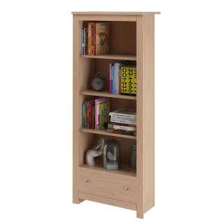Bücherregal in Eichefarben Landhaus Design