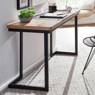 Home Office Schreibtisch in modernem Design Tischplatte in Trapezform