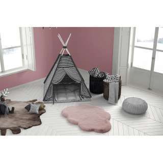 home24 Kinderteppich Lovely Kids 1425 Cloud