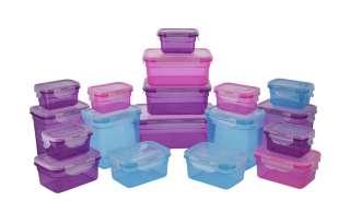 KHG Frischhaltedosen-Set, 36-teilig ¦ mehrfarbig ¦ Kunststoff, Silikon, Polypropylen Küchenzubehör & Helfer > Vorratsbehälter - Höffner