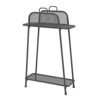 TV Sessel und Hocker in Grau verstellbar (2-teilig)