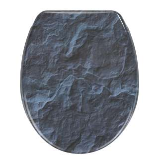 home24 WC-Sitz Slate Rock