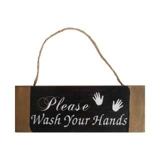 home24 Schild Wash your Hands