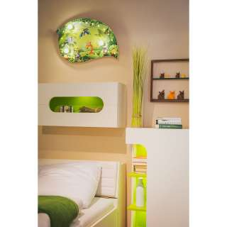 home24 LED-Deckenleuchte Wildnis I