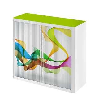 home24 Rollladenschrank easyOffice Abstrait I