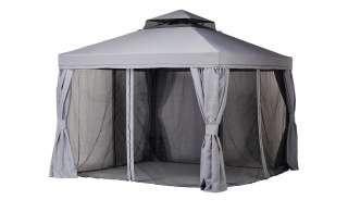 Pavillon  Sahara ¦ grau ¦ Maße (cm): B: 300 H: 280 T: 300 Garten > Gartenmöbel > Pavillons - Höffner