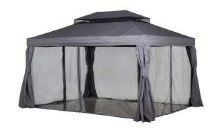 Pavillon  Sahara ¦ grau ¦ Maße (cm): B: 300 H: 280 T: 400 Garten > Gartenmöbel > Pavillons - Höffner