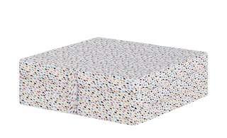 Klappmatratze  Tilda ¦ mehrfarbig ¦ Maße (cm): B: 65 H: 24 T: 65 Polstermöbel > Hocker > Sitzsäcke - Höffner