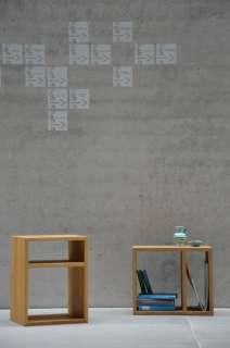 Esszimmerstuhl mit Lochmuster Rot (4er Set)