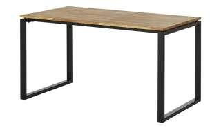 Schreibtisch  Black Line ¦ holzfarben ¦ Maße (cm): B: 140 H: 76 T: 80 Tische > Schreibtische - Höffner