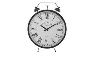 Uhr ¦ schwarz ¦ Maße (cm): B: 48 H: 65 T: 6 Dekoration > Uhren & Wetterstationen - Höffner