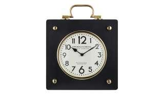 Uhr ¦ gold ¦ Maße (cm): B: 30 H: 38 T: 8 Dekoration > Uhren & Wetterstationen - Höffner