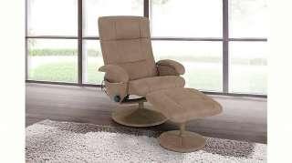 Massagesessel, mit Fußhocker