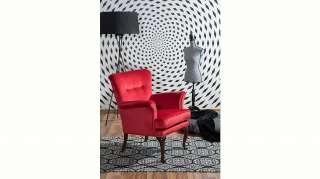 Max Winzer® Sessel »Barbie«, im Barockstil, mit Ziernagelband
