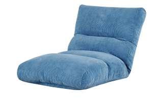 Relaxliege  Tabea ¦ türkis/petrol ¦ Maße (cm): B: 87 H: 29 T: 187 Polstermöbel > Relaxliegen - Höffner