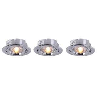 home24 LED-Einbauleuchte Medowie I