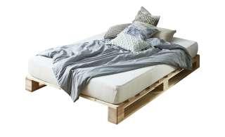 Palettenbettgestell ohne Matratze  Havering ¦ holzfarben ¦ Maße (cm): B: 140 H: 19 T: 200 Betten > Futonbetten - Höffner