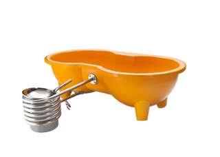 Weltevree - Dutchtub Loveseat - Orange - outdoor