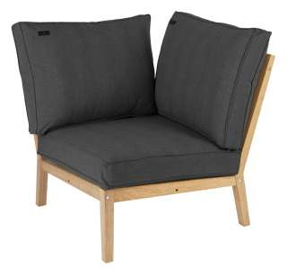 Alexander Rose - Roble Loungesofa Eckelement - Charcoal - outdoor