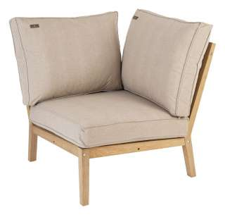 Alexander Rose - Roble Loungesofa Eckelement - Oatmeal - outdoor