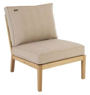 Alexander Rose - Roble Loungesofa Mittelelement - Oatmeal - outdoor