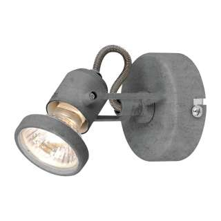 home24 LED-Wandleuchte Concreto