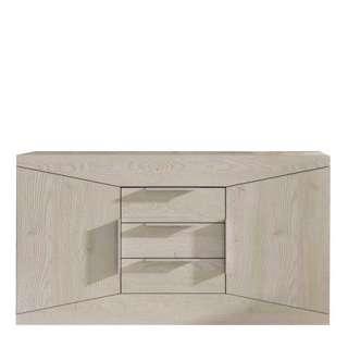 Wohnzimmer Kommode in Weiß 40 cm tief
