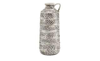 Vase ¦ weiß ¦ Dolomite ¦ Maße (cm): B: 12,4 H: 30,7 T: 12,4 Dekoration > Vasen - Höffner