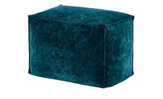 Pouf ¦ grün ¦ 100% Polystyrol, Samt ¦ Maße (cm): B: 40 H: 40 T: 40 Heimtextilien > Kissen > Bodenkissen - Höffner