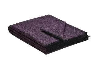 Biederlack Plaid   Ionio ¦ lila/violett ¦ 48% Wolle, 25% Polyamid, 12% Viskose, 10% Seide, 5% Cashmere ¦ Maße (cm): B: 130 Heimtextilien > Kuscheldecken - Höffner