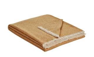 Biederlack Plaid   Ionio ¦ gelb ¦ 48% Wolle, 25% Polyamid, 12% Viskose, 10% Seide, 5% Cashmere ¦ Maße (cm): B: 130 Heimtextilien > Kuscheldecken - Höffner