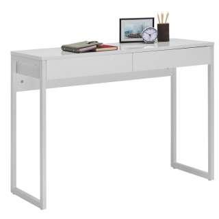 Carryhome COMPUTERTISCH Weiß, Silber