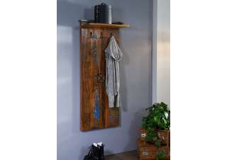 Garderobe Altholz 59x30x145 mehrfarbig lackiert NATURE OF SPIRIT #111
