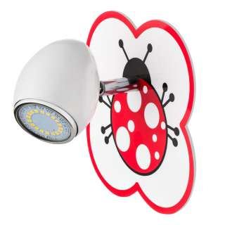 home24 LED-Wandleuchte Fly