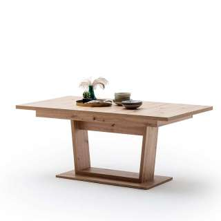 Esszimmer Tisch in Eichefarben Mittelauszug