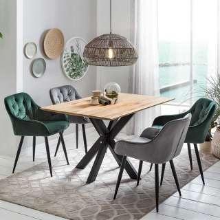Sitzgarnitur im Loft Design 4 Personen (5-teilig)