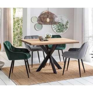 Design Essgruppe im Loft Style 4 Personen (5-teilig)