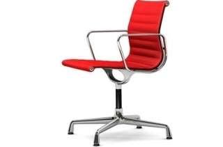 Vitra - Aluminium Chair - EA 104 - 63 rot poppyred - indoor