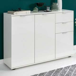 set one by Musterring Highboard »Colorado«, Front Hochglanz, offenes Fach links