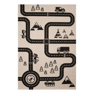 home24 Kinderteppich Road Map Charly
