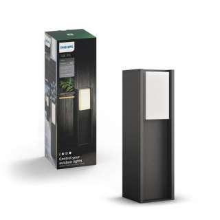 Philips LED-POLLERLEUCHTE HUE WHITE Grau