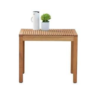Jan Kurtz - Tisch SUMATRA, Robinie geölt,60 x 75 cm, 75 cm hoch - outdoor