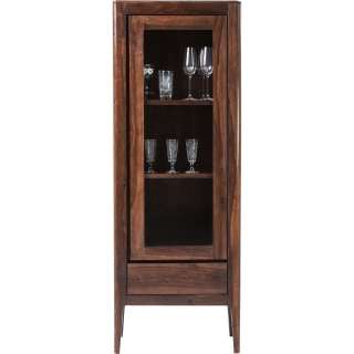 Brooklyn Walnut Vitrine 1-Türig