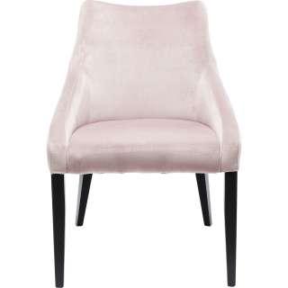Stuhl Mode Samt Rose Schwarz
