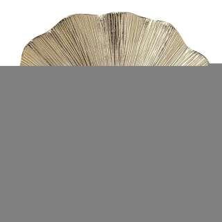 Wandkerzenhalter Ginkgo Leaf 45cm