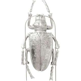 Wandschmuck Longicorn Beetle Silber