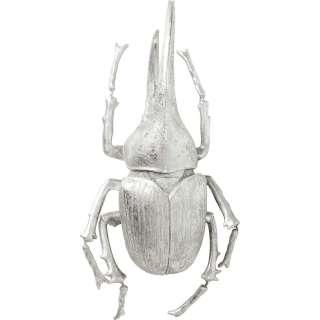 Wandschmuck Herkules Beetle Silber