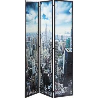 Paravent Glas NY Skyline