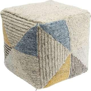 Sitzwürfel Triangle Stripes 45x45cm