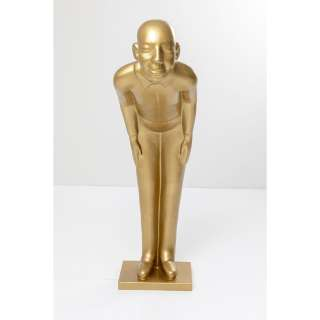 Deko Figur Welcome Guests Gold XL